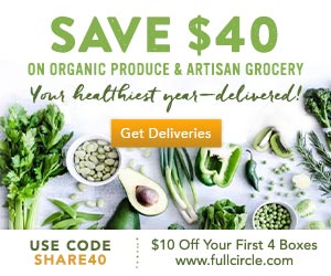 Organic Produce Delivered - $10 Off First 4 Boxes - Use Code SHARE40