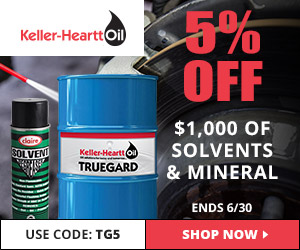 Take 5% Off Solvents & Mineral Spirits w/code TG5