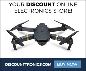discount on drone banner