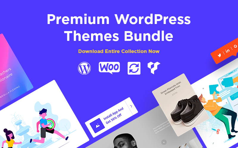 Premium Responsive Theme Bundle For WordPress From VisualModo | Lifetime