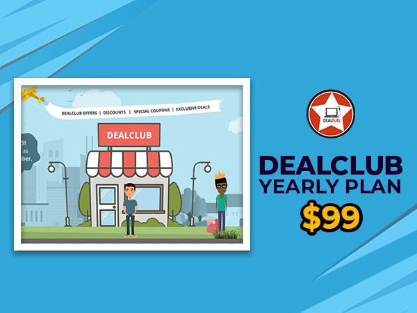 DealClub Yearly Plan 2020 At $99