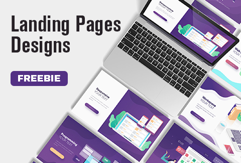 Amazing Landing Page Designs Templates For FREE