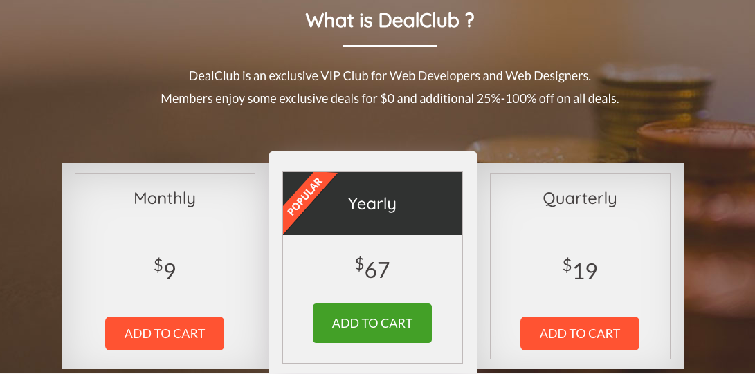 DealClub A VIP Club Membership For DealFuelers