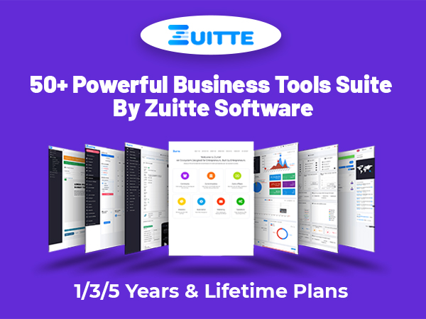 50+ Powerful Business Tools Suite By Zuitte Software