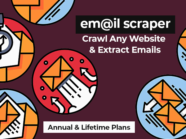 EmailScraper - The Most Powerful Email Extractor [Now Available In Annual & Lifetime Plans]