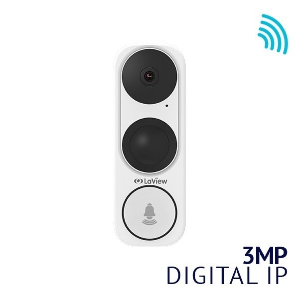 3MP Video Doorbell camera