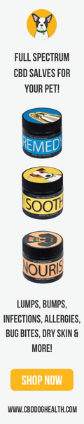 Full Spectrum CBD Salves for dogs