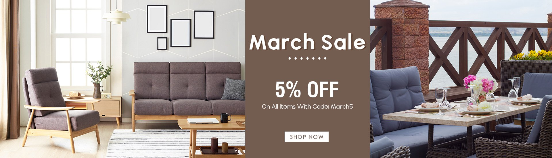 March 5% Off