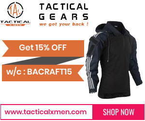 Get 15% off on bacraft products