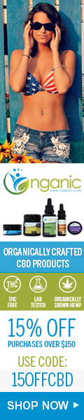15% Off orders over $150 Coupon 15OFFCBD