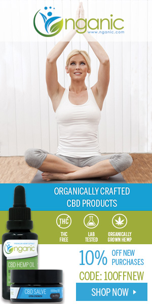Nganic CBD Oil Premium + Organically Grown