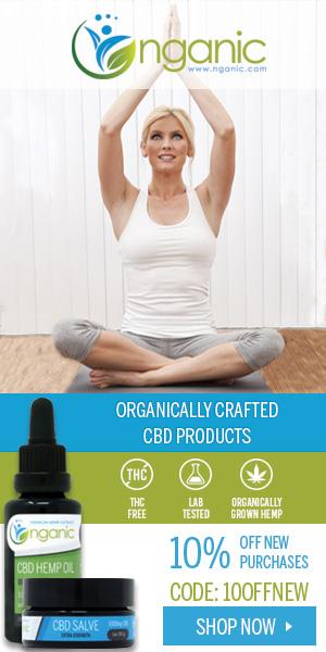 Nganic CBD Oil Premium + Organically Grown