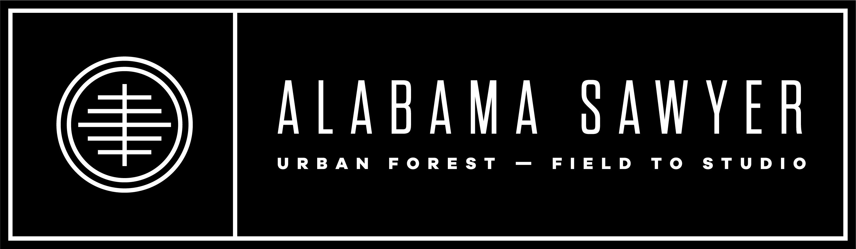 Alabama Sawyer Logo Reverse