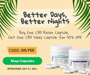 Buy a Relax Caps (Sku 100216) & Get Sleep Caps (Sku 100211) 50% off - or vice versa