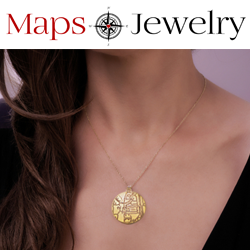Custom Map Jewelry