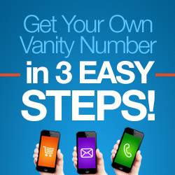 Get your own Vanity Number