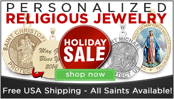 Sacred Medals - Custom Religious Jewelry