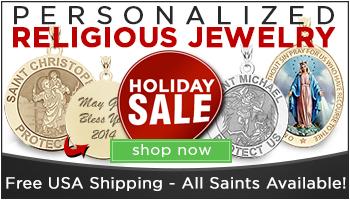 Sacred Medals - Custom Religious Jewelry
