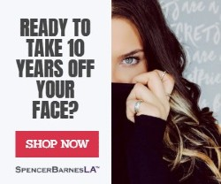 READY TO TAKE 10 YEARS OFF YOUR FACE? banner