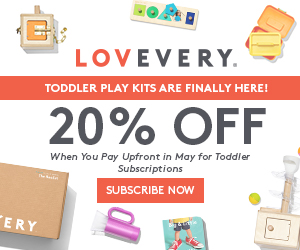 Toddler Play Kits Are Finally Here! | 20% Off When You Pay Upfront in May for Toddler Subscriptions | Subscribe Now