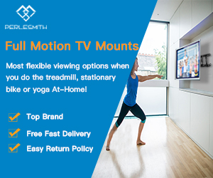 Perlesmith Full Motion TV Mounts