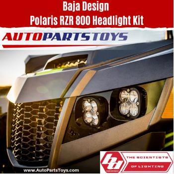 Baja Design Polaris RZR 800 Headlight Kit at AutoPartsToys.com