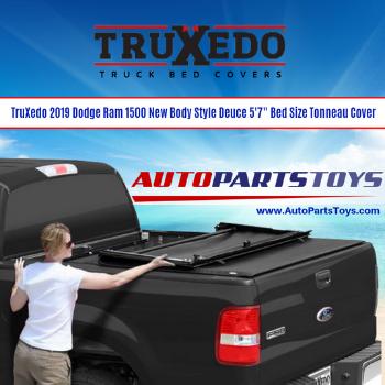"Truxedo 2019 Dodge Ram 1500 New Body Style Deuce 5'7"" Bed Size Tonneau Cover"