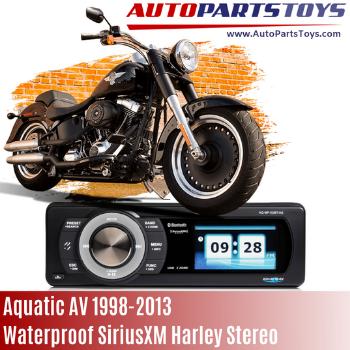 Aquatic AV 1998-2013 waterproof SiriusXM Harley Stereo