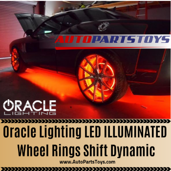 Oracle Lighting LED Illuminated Wheel Rings Shift Dynamic
