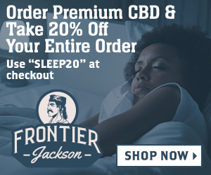 "Save 20% on CBD Products with ""Sleep20"""