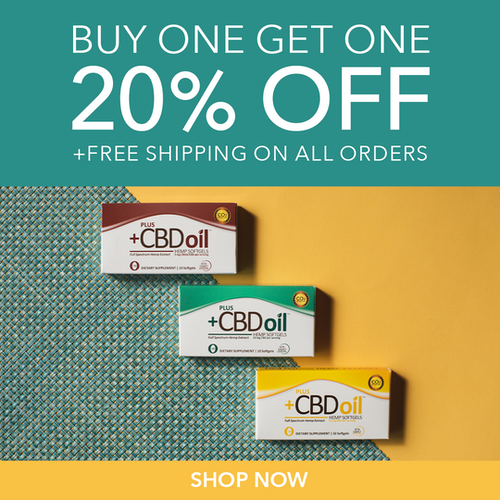 Buy one, get one 20% off* and FREE SHIPPING*
