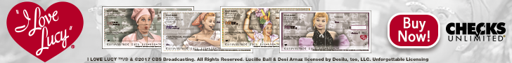 Love Lucy Designer Checks Check out the new, vintage I Love Lucy designs at Checks Unlimited