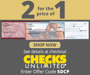 Checks Unlimited - 2 For The Price of One