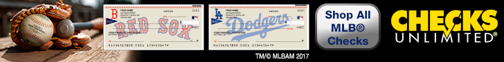 MLB Checks at Checks Unlimited