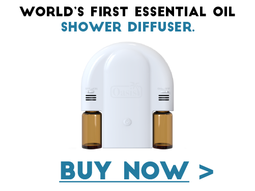 oasis essential oil shower diffuser