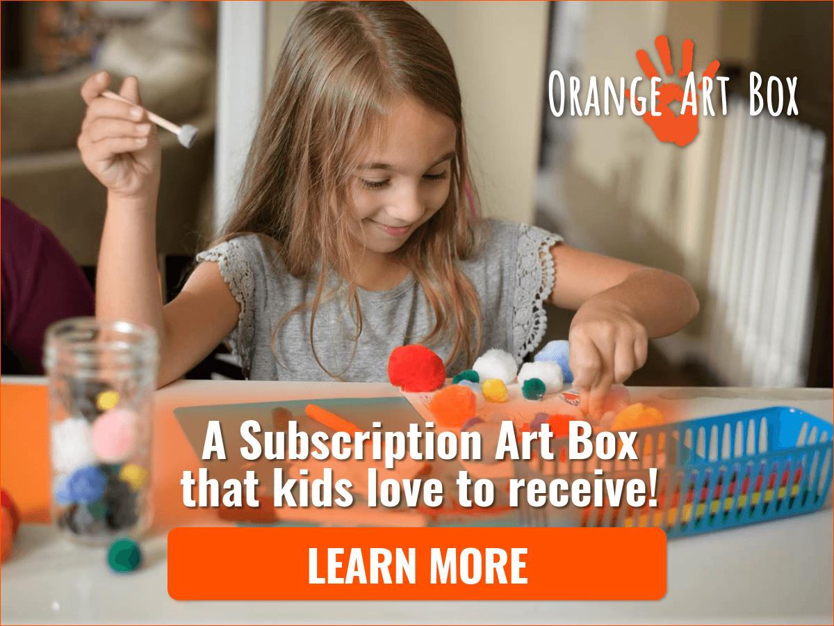 Orange Art Box - Subscribe Now