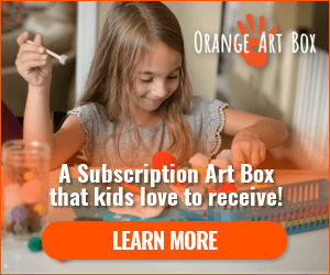Orange Art Box Subscription Box