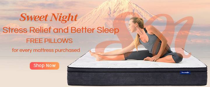Relieve stress and get a better sleep with Sweet Night