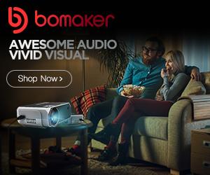 Bomaker: Awesome Audio, Vivid Visual