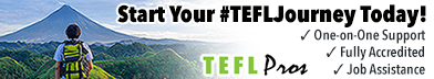 Start your #TEFLJourney Today!