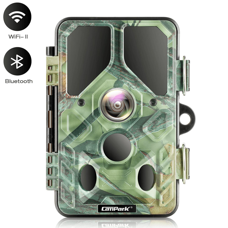 Campark T85 WiFi Bluetooth 20MP 1296P Trail Hunting Camera