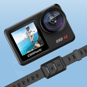 Campark V40 4K/30FPS WiFi Action Camera 20MP Touch Screen 40M Waterproof Camera
