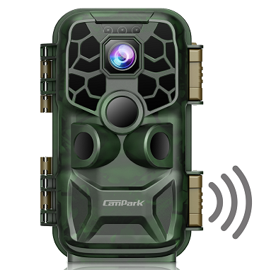Campark T90 WiFi Trail Camera 4K Lite 24MP Blueto