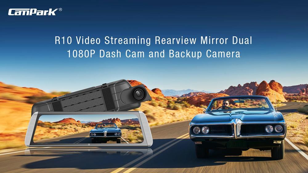 dash camera Campark R10