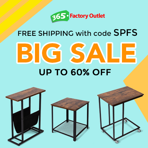 Hot Deals! Side Tables Up to 60% Off Plus Free Shipping! Code SPFS.