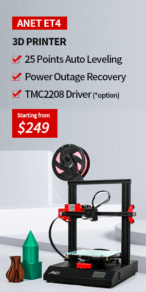 Anet ET4 FDM 3D Printer
