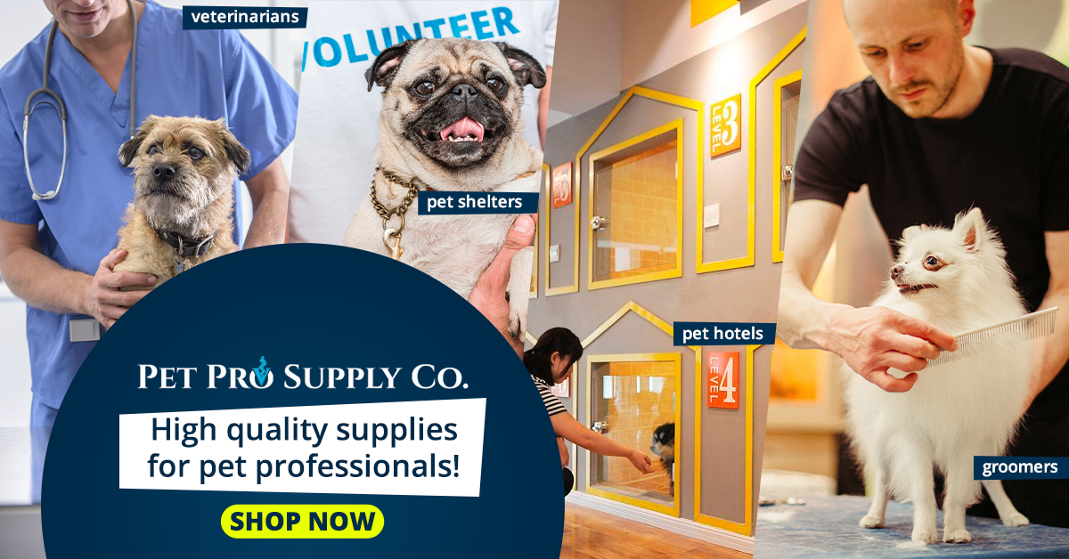 pet pro supply co banner