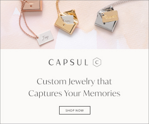 Customized premium jewelry is the perfect gift for any occasion. Free shipping + happiness guaranteed! Make it personal at CapsulJewelry.com.