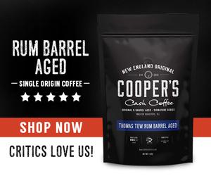 whiskey barrel coffee gift