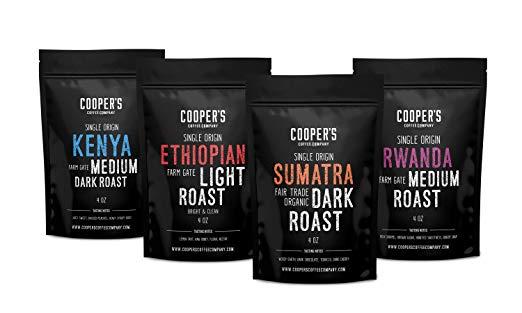 single origin coffee whole bean ground